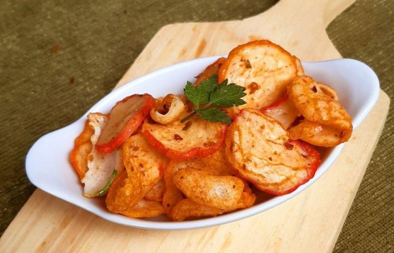 cara membuat keripik bakso goreng