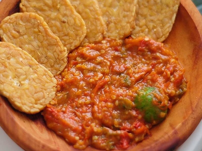 cara membuat sambal goreng terasi