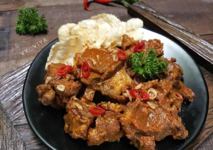resep iga asem asem kambing masak pedas